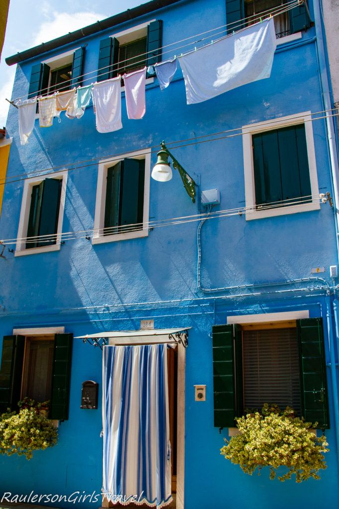 Blue house in Burano