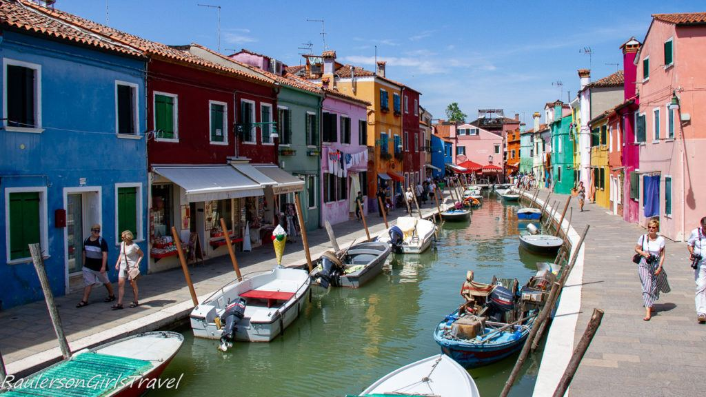 View of Burano