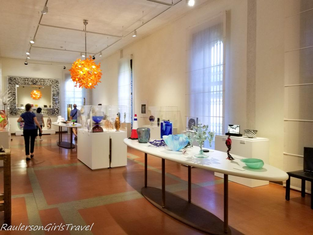 Gallery at the Glass Museum