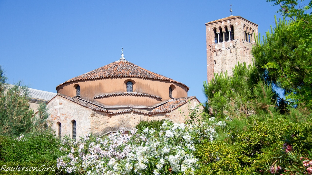 Central Torcello, with the Cathedral of Santa Maria Assunta and the Church of Santa Fosca