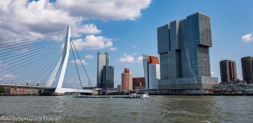 Erasmusbrug and the Rotterdam