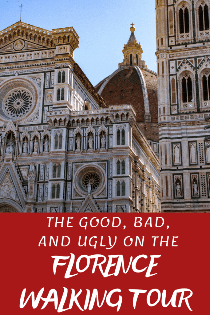 Florence Walking Tour Pinterest Pin