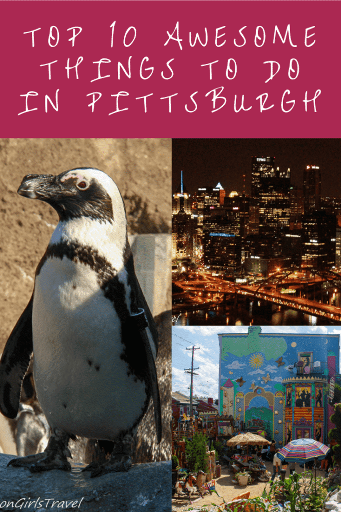 Things to Do in Pittsburgh Pinterest Pin