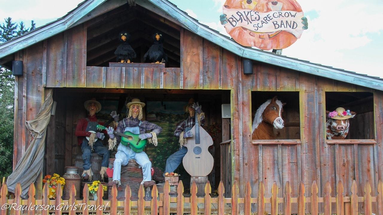 Band at Blake's Cider Mill