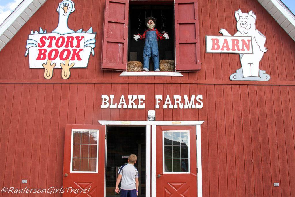 Blake's Cider Mill Story Book Barn