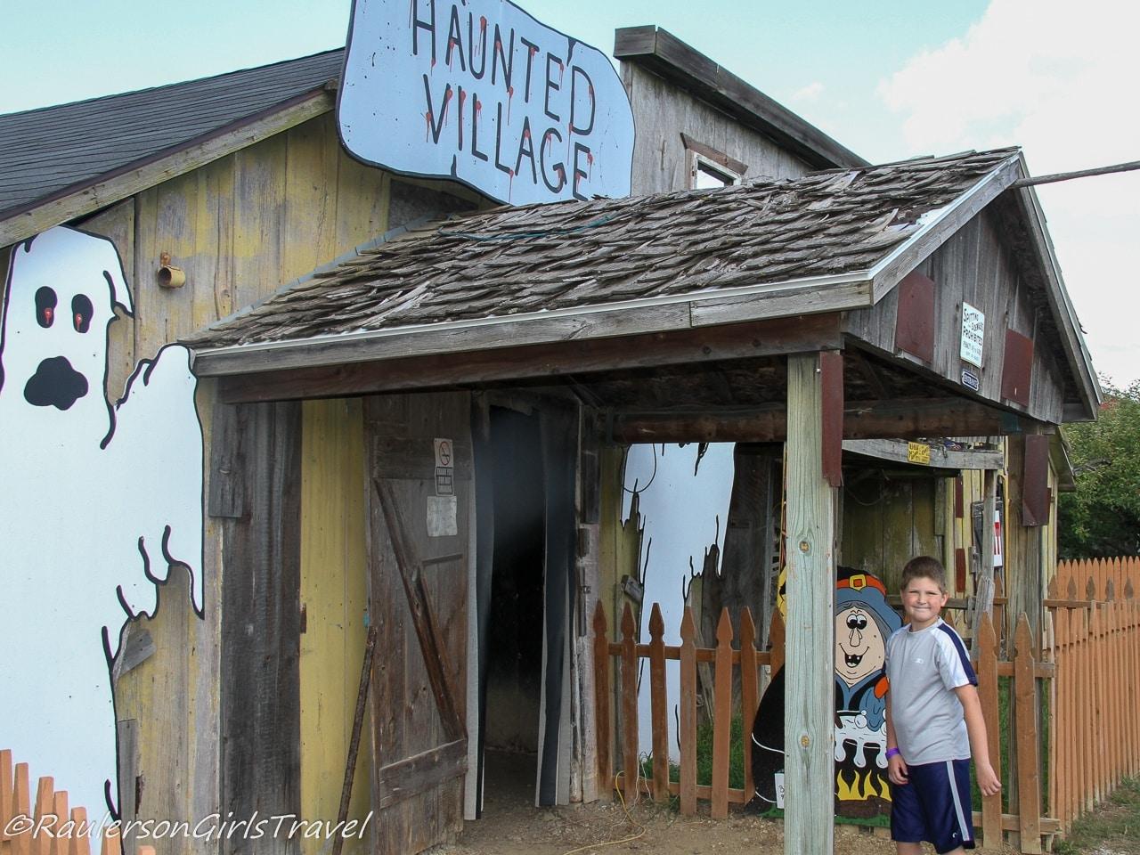Blake's Cider Mill Haunted Village - Michigan Cider Mills