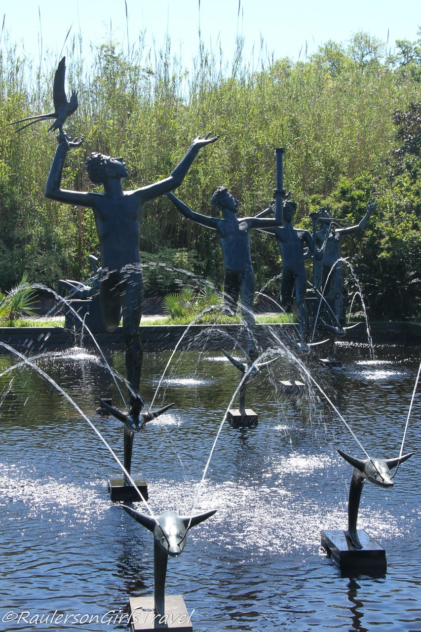 Fountain of the Muses at BrookGreen Gardens