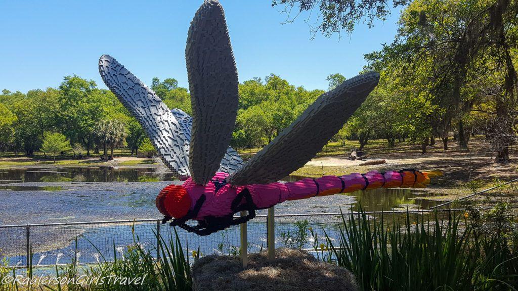 Dragonfly Lego by Sean Kenney
