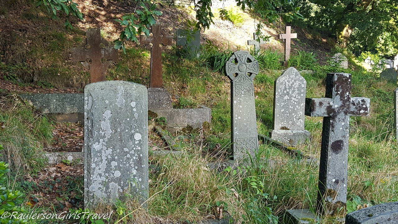 Old Gravestones in St. Mary's C of E Church Cemetery