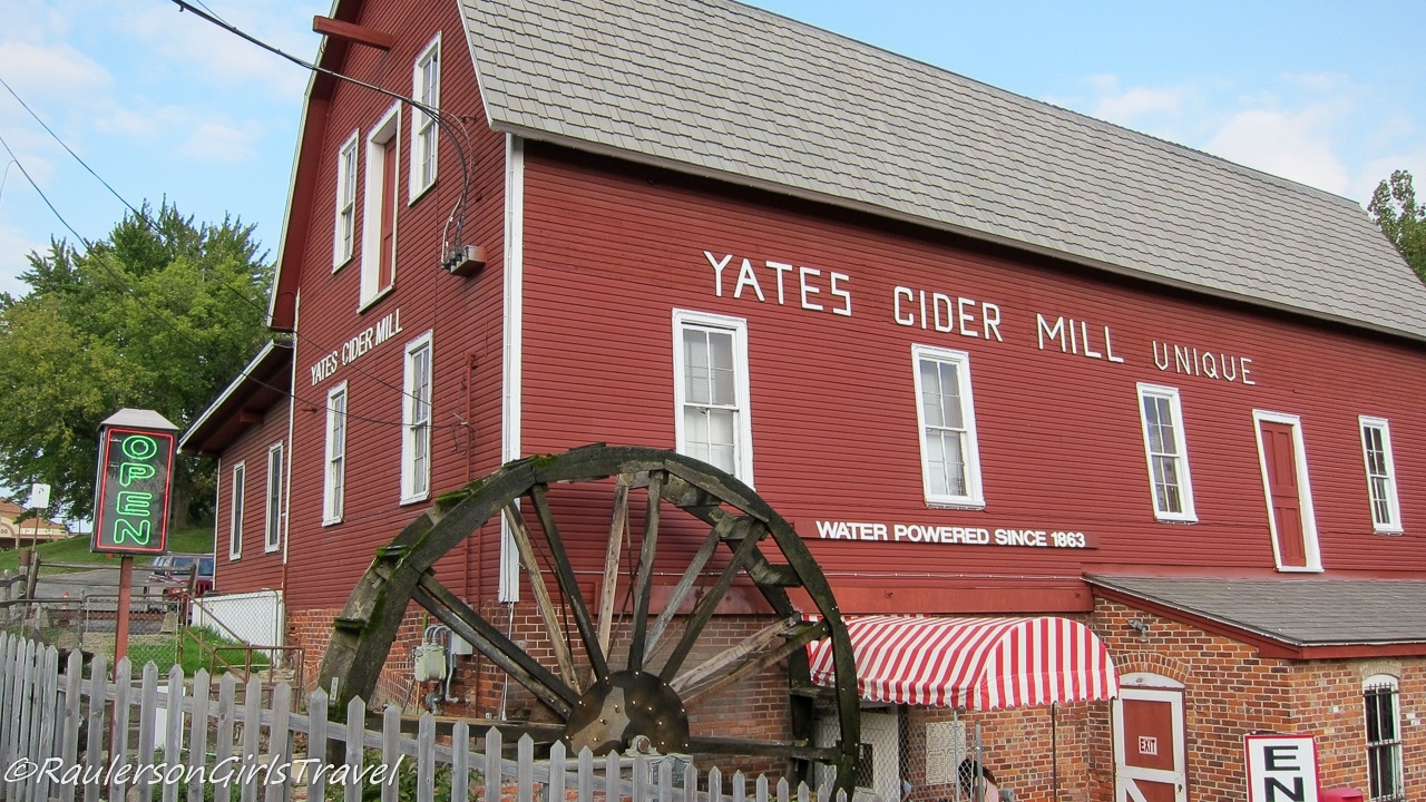 Yates Cider Mill - Michigan Cider Mills