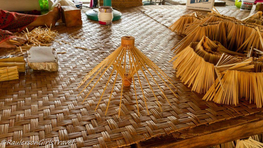 Bamboo Struts for Umbrellas