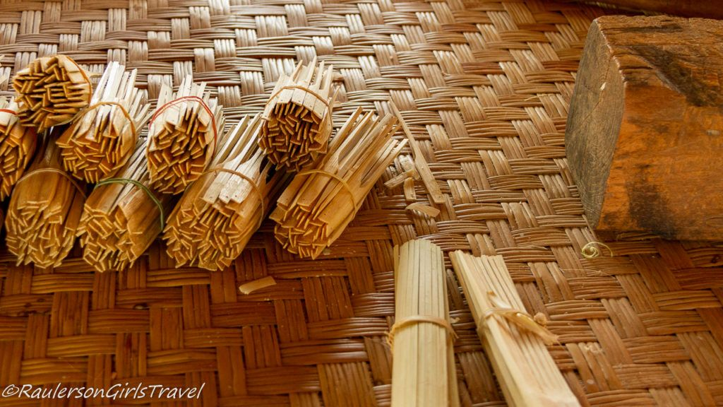 Making of the Umbrella Bamboo Struts