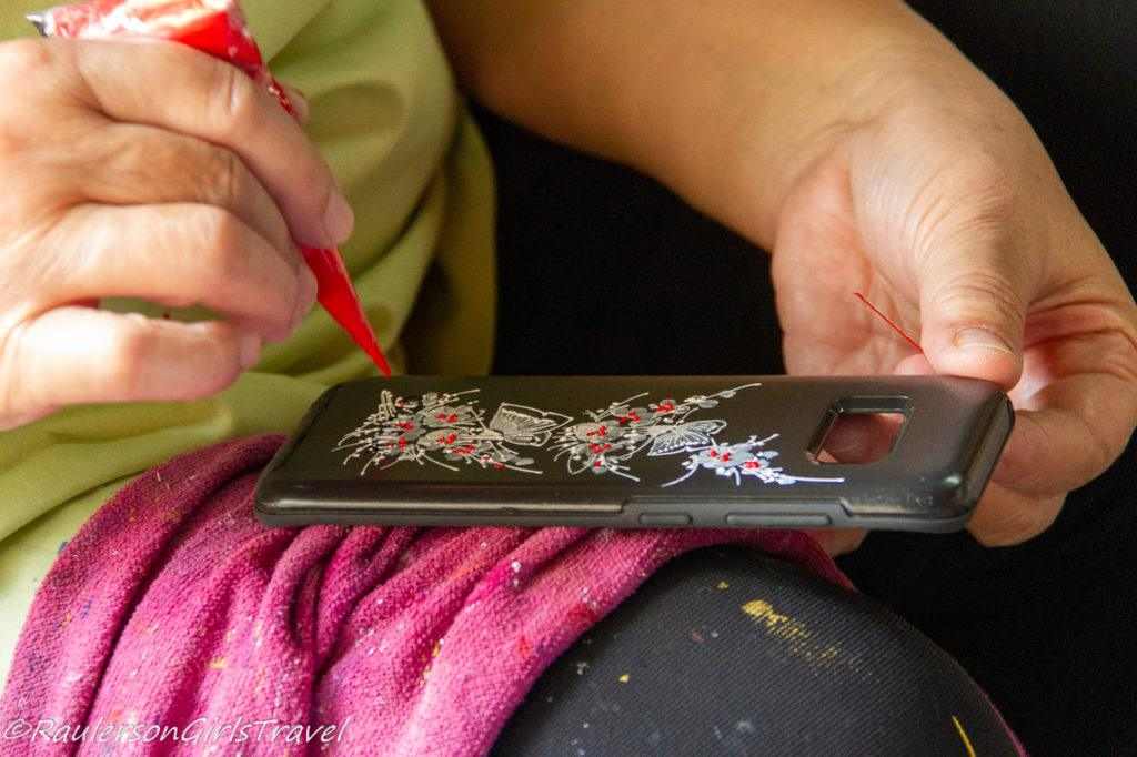 Detailed Painting on Phone Case