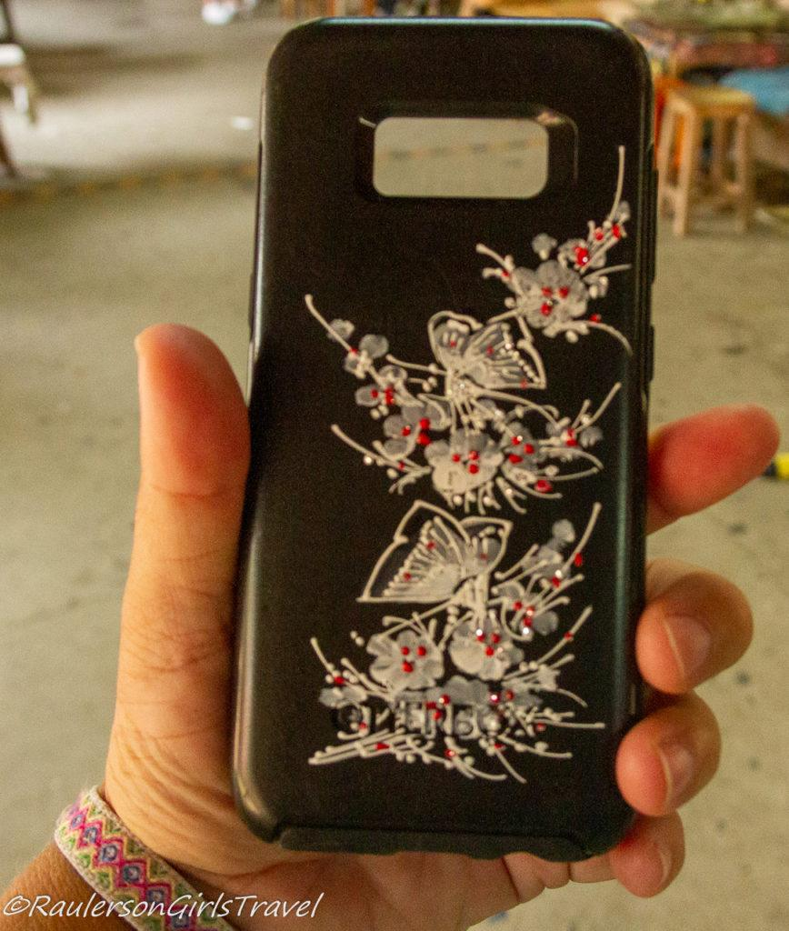 Phone Case with Finished Hand Painting Artwork