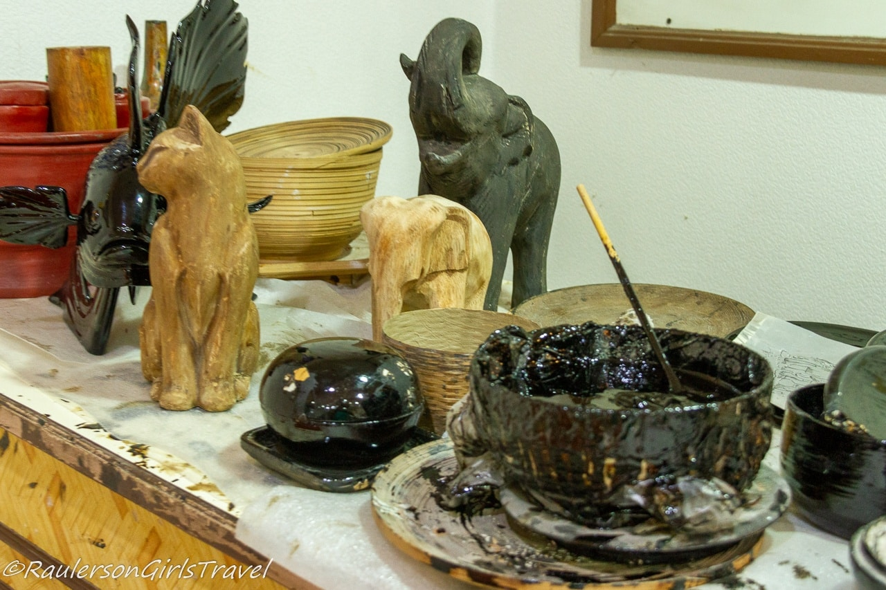 Making of the Lacquer-ware