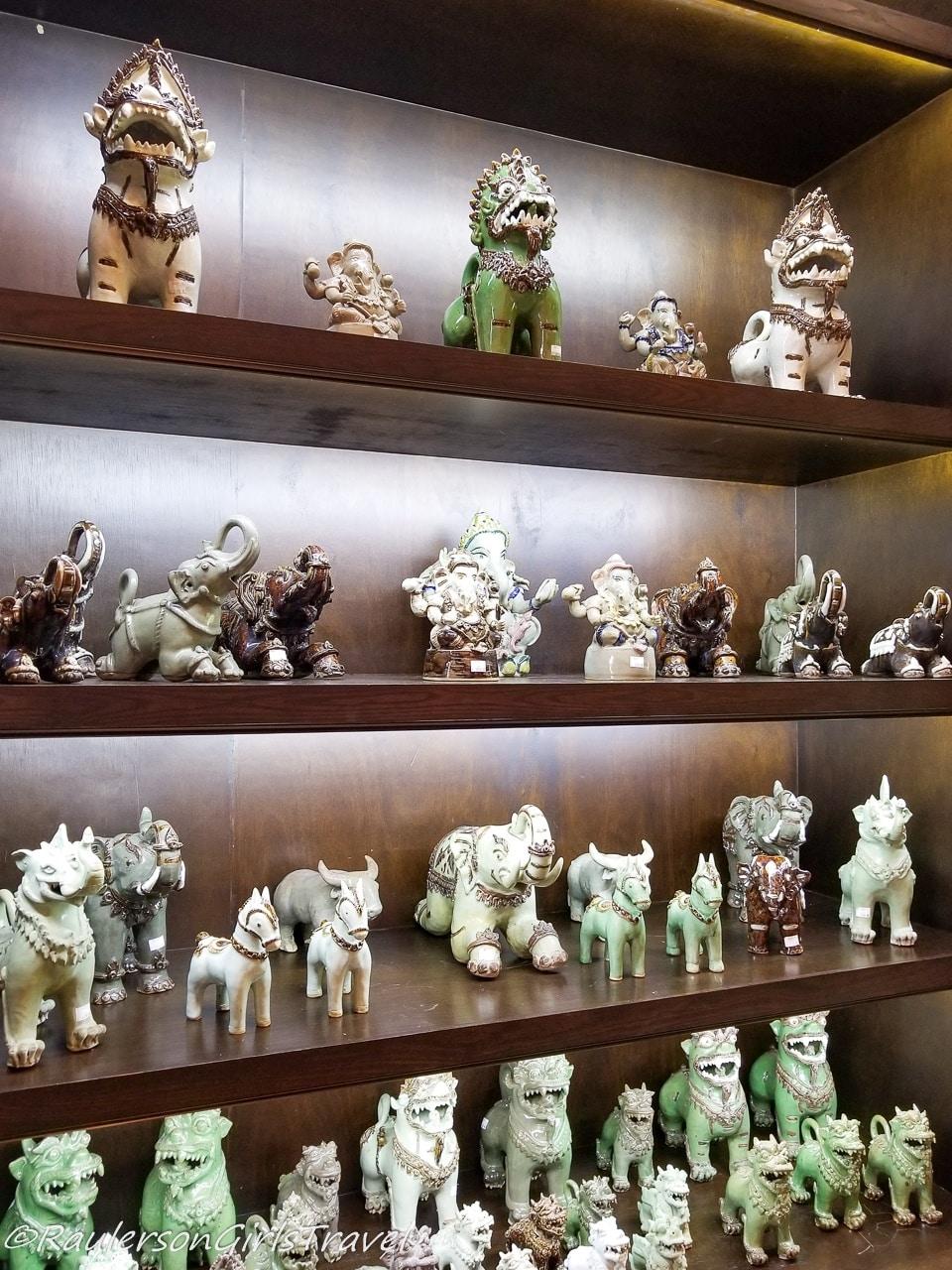 Siam Celadon Animals