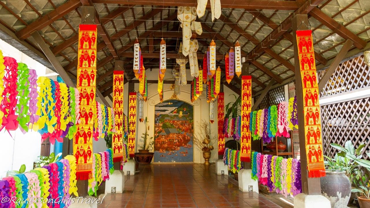 Lobby in the Thai Silk Village