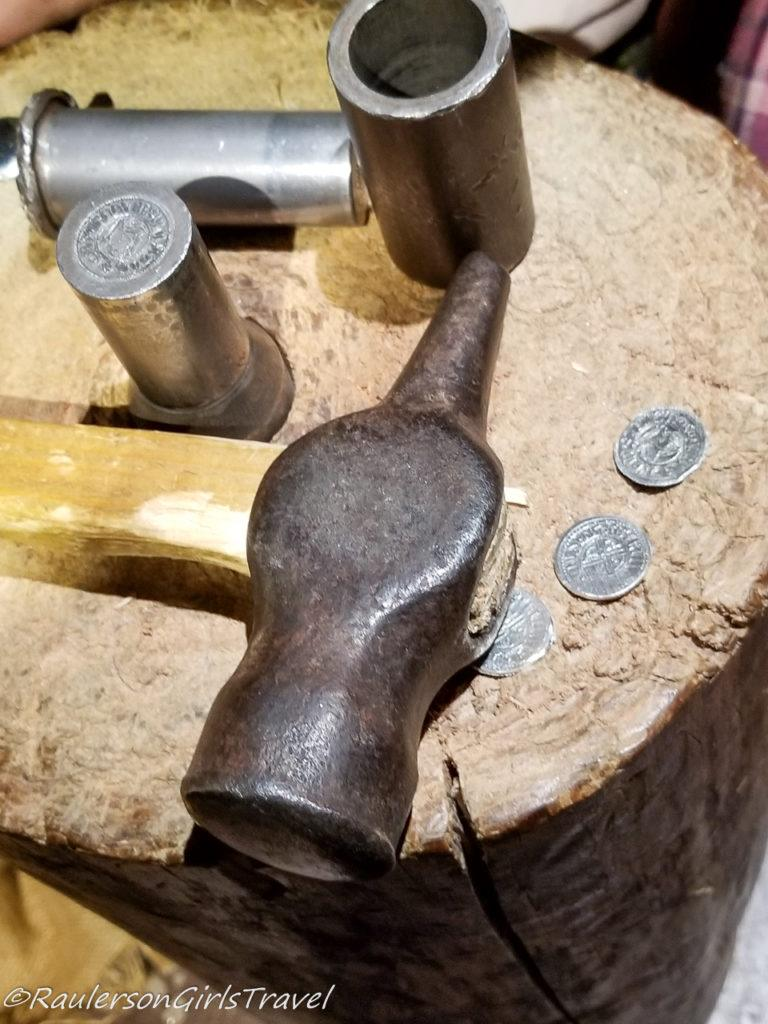 Viking coins and tools