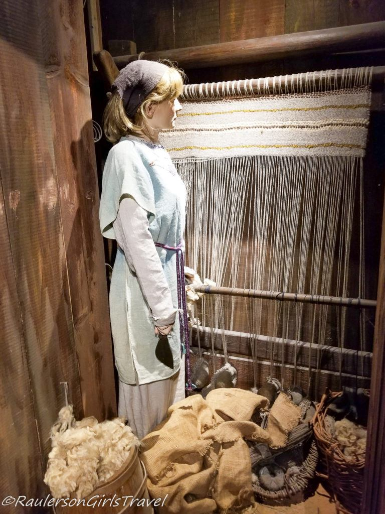 Weaving was one of the most important crafts in the Viking world