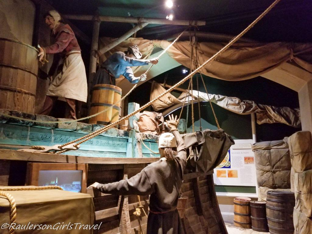 Viking International Market and Life at Sea