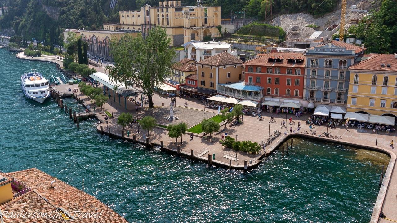 View of the bay in Riva del Garda