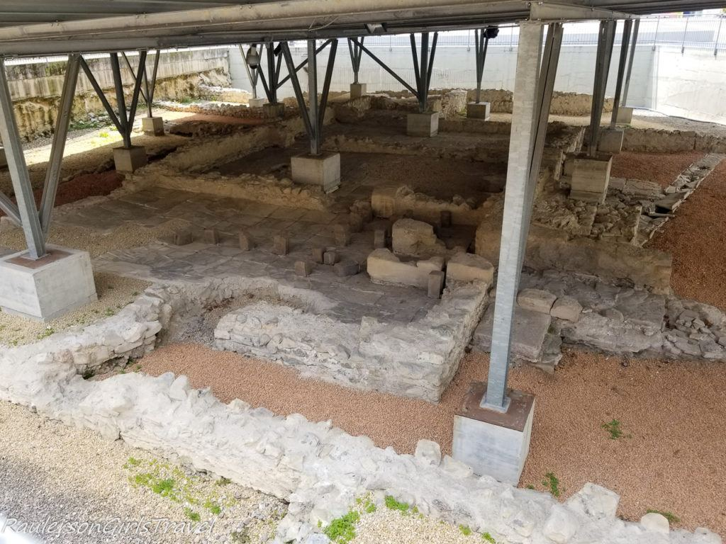 Roman ruins found in Riva del Garda