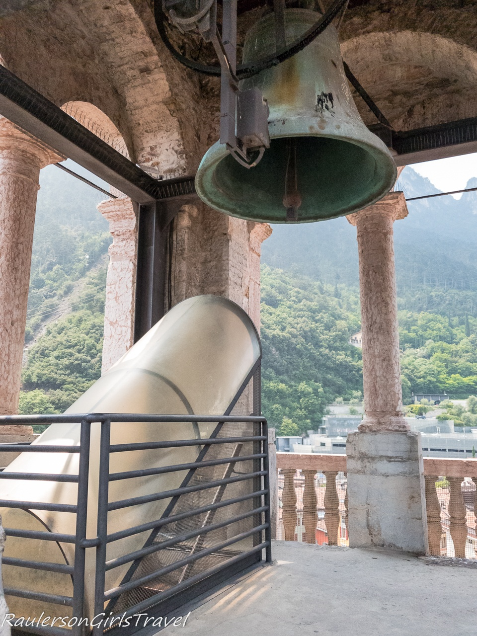 top of the Apponale Tower in Riva del Garda