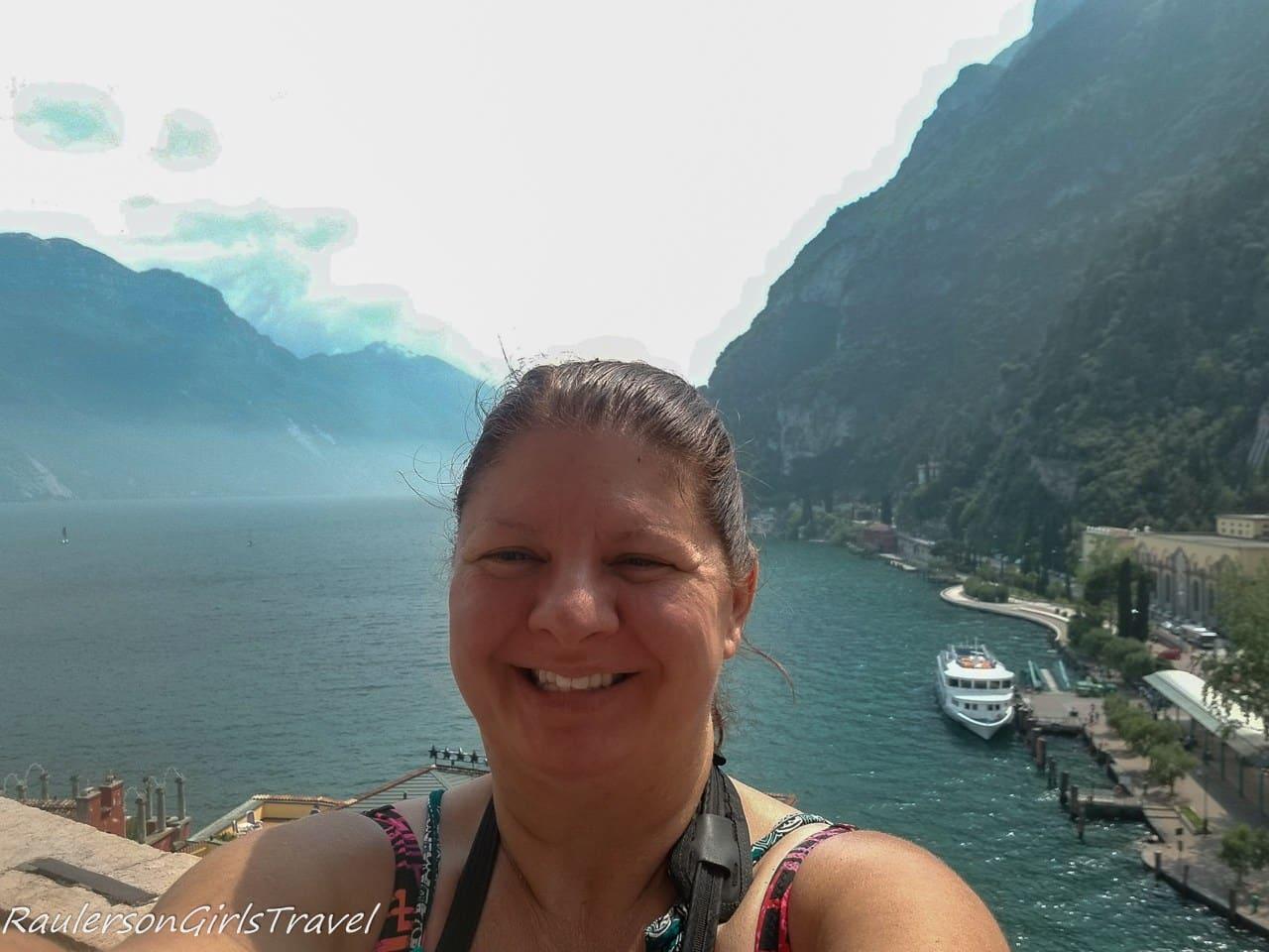 Heather at Riva del Garda