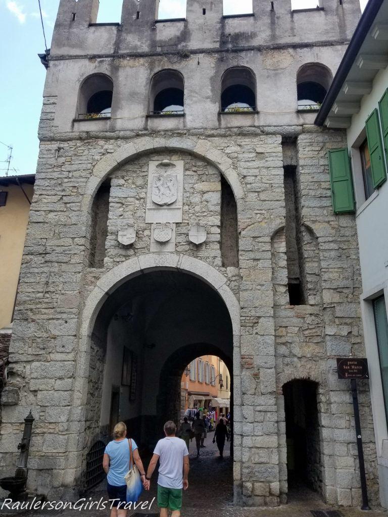 San Marco city gate in Riva del Garda