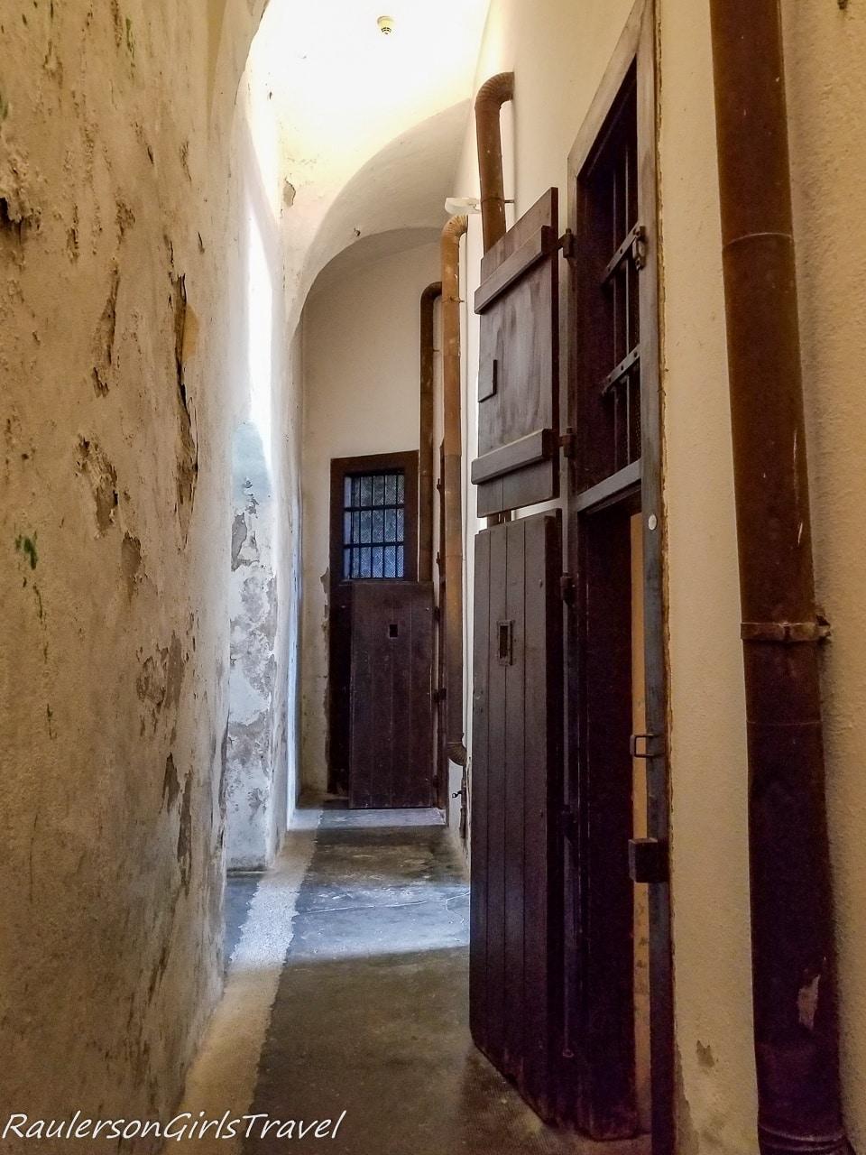 Hallways in the Prison