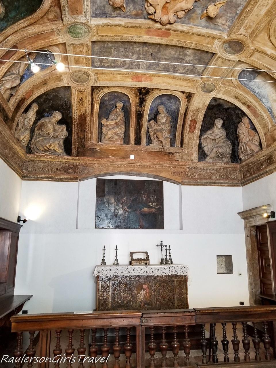 Chapel in Magno Palazzo at Buonconsiglio Castle