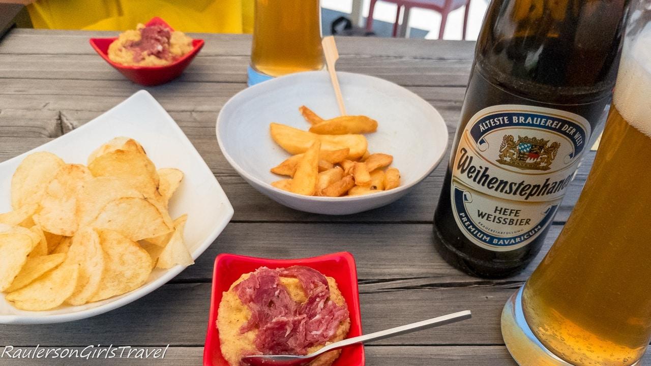 Snacks and Drinks at Trento Alta in Sardagna