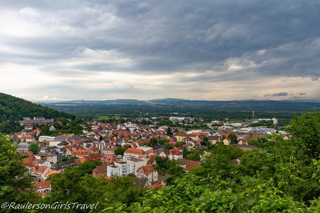 Nanstein Castle views