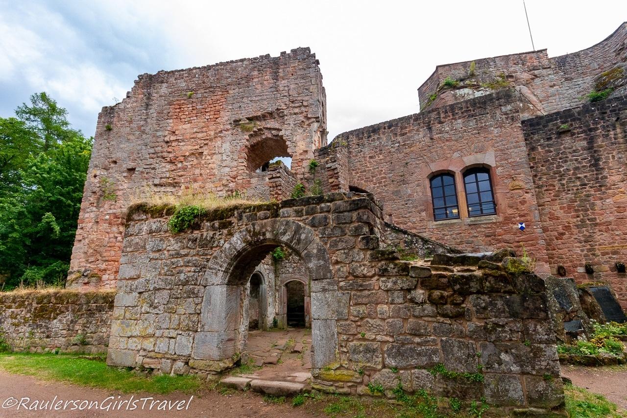 Entrance to Nanstein Castle