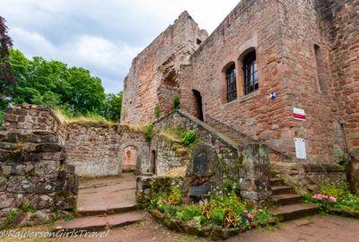Castle Nanstein in Landstuhl