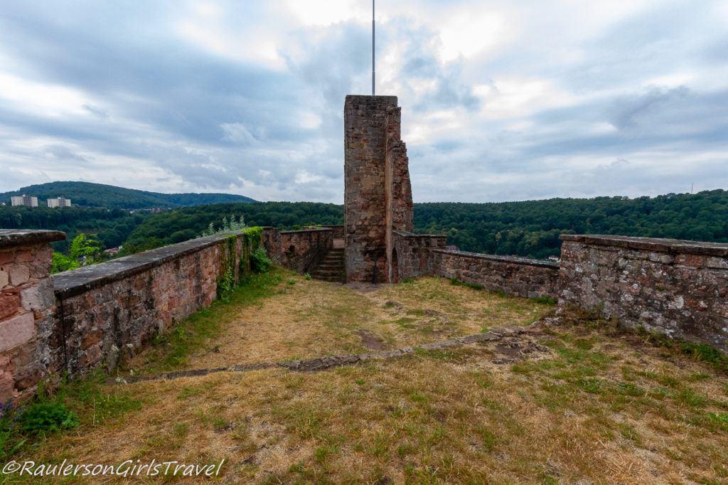 Roof of Castle Nanstein