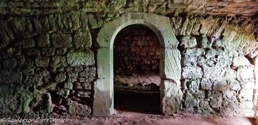 Arch Doorway in basement of Nanstein Castle