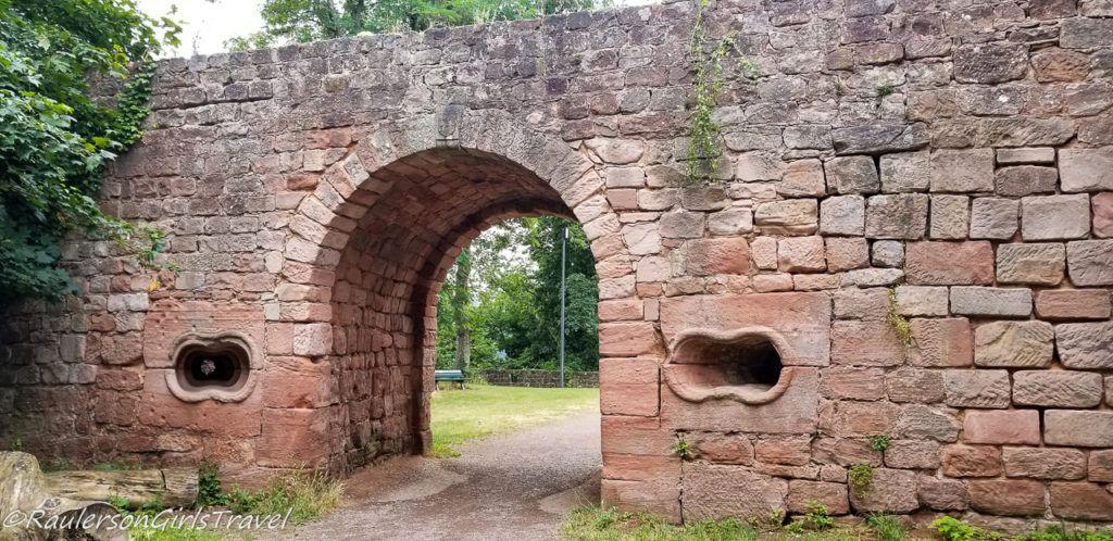 Gate of Nanstein Castle