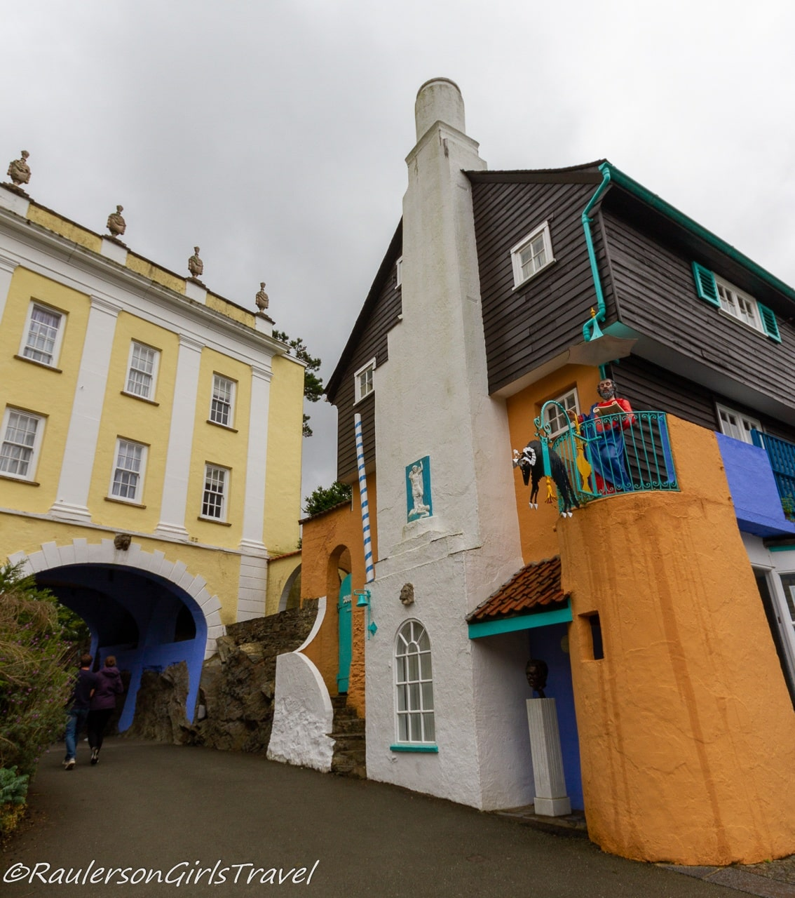 Bridgehouse and Toll House in Portmeirion Village