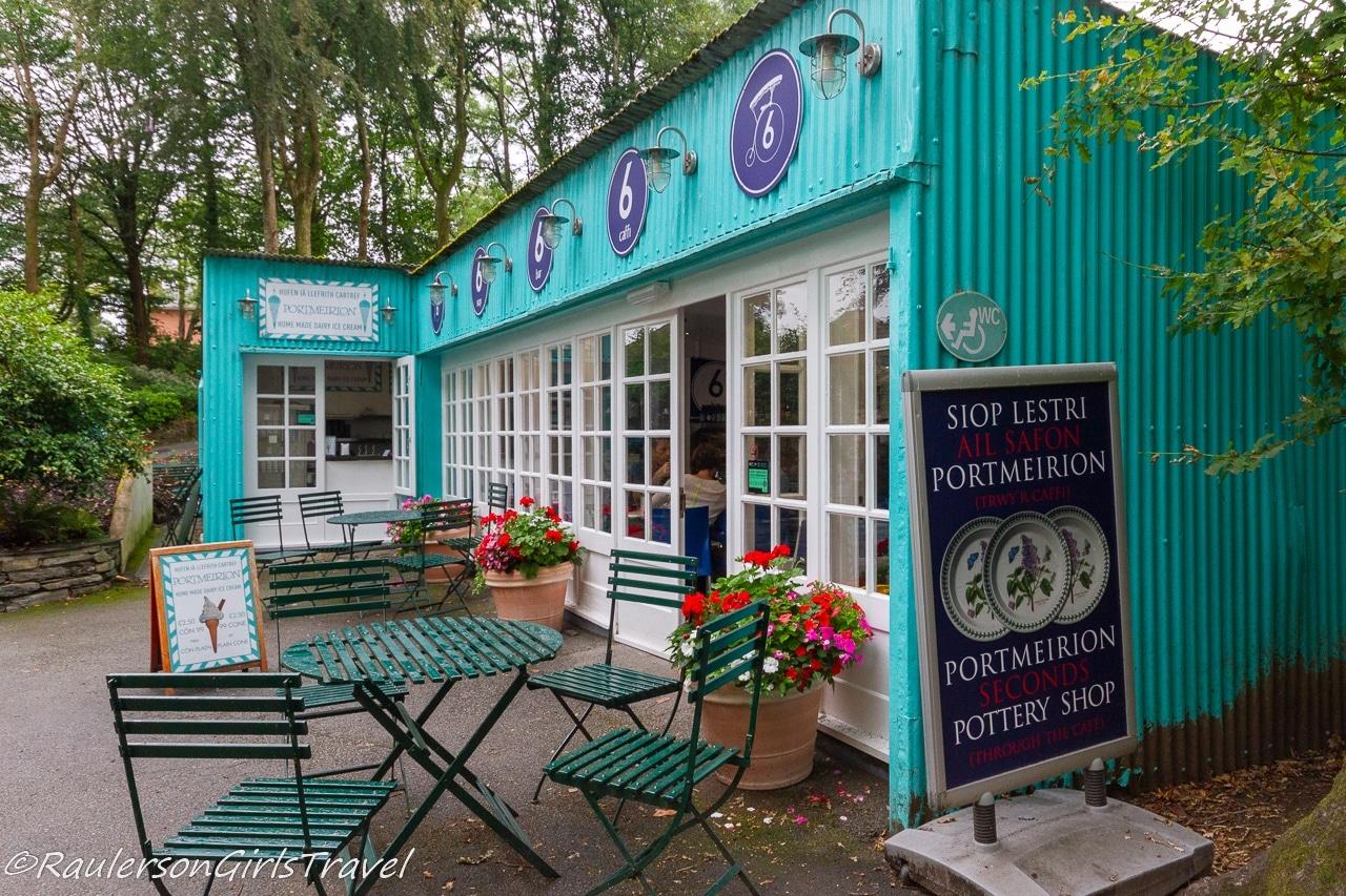 Portmeirion Pottery Shop and Cafe