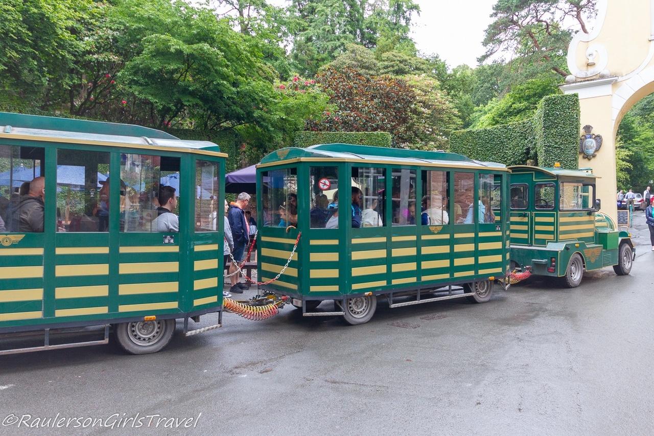 Train tour through the Portmeirion Woodlands - Things to Do in Portmeirion