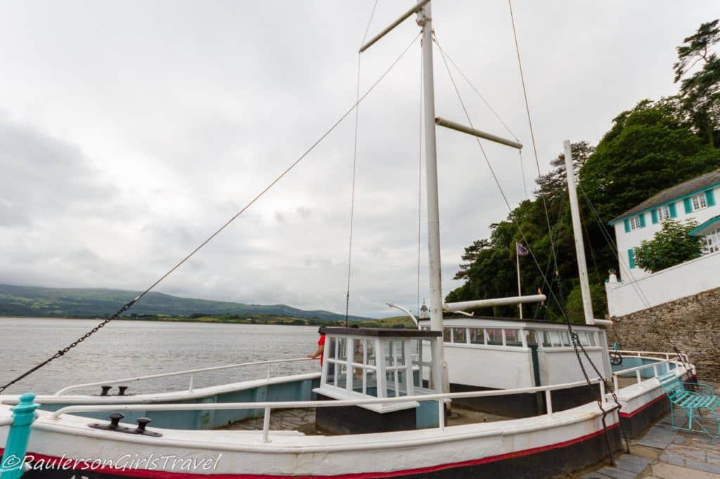 Stone Boat at Portmeirion Hotel