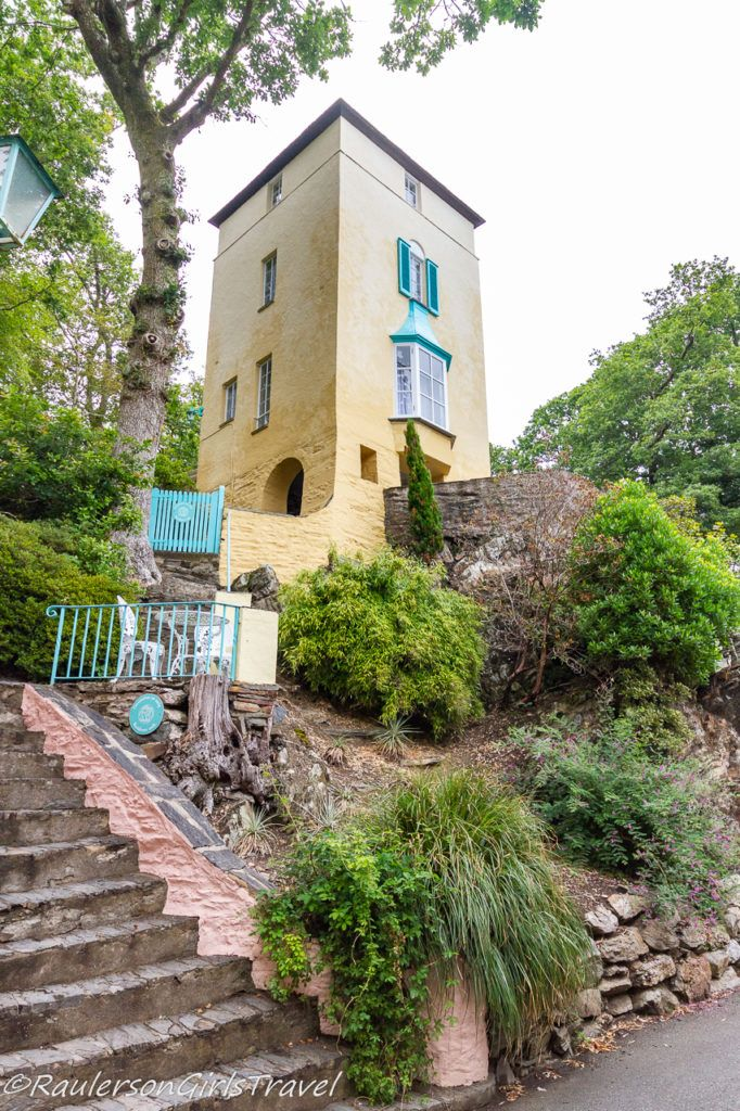 Telford's Tower Village Rooms in Portmeirion