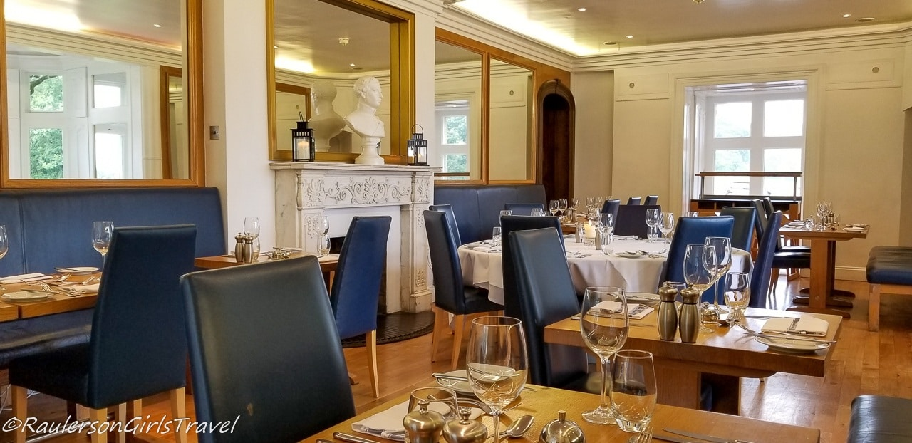 Brasserie at Castell Deudraeth - Things to do in Portmeirion