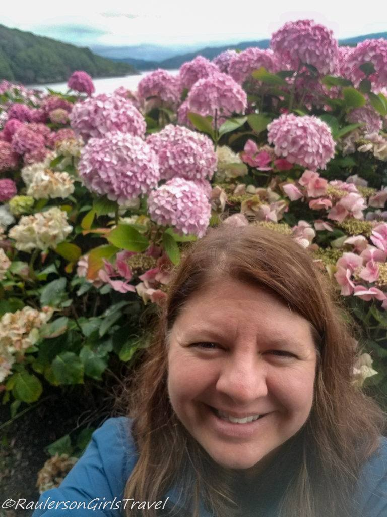 Heather and Hydrangeas
