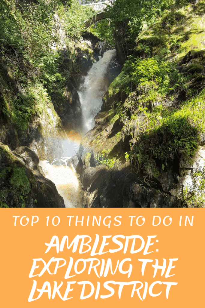 Things to Do in Ambleside Pinterest Pin