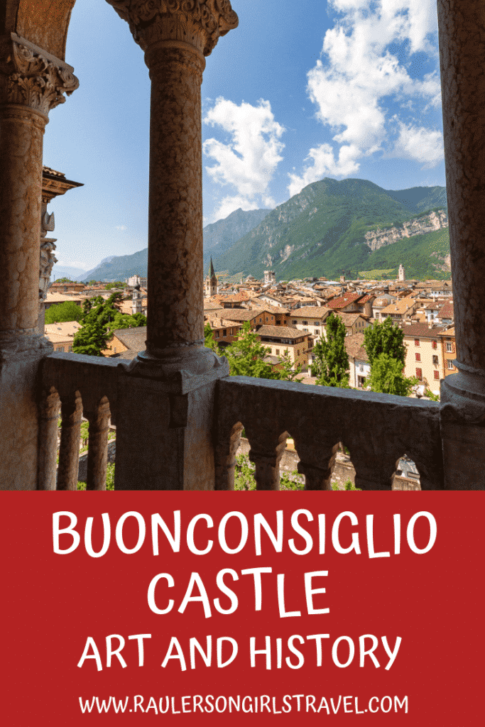 Buonconsiglio Castle - Art and History Pinterest Pin