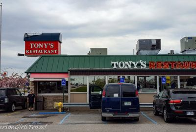 Tonys Restaurant in Birch Run