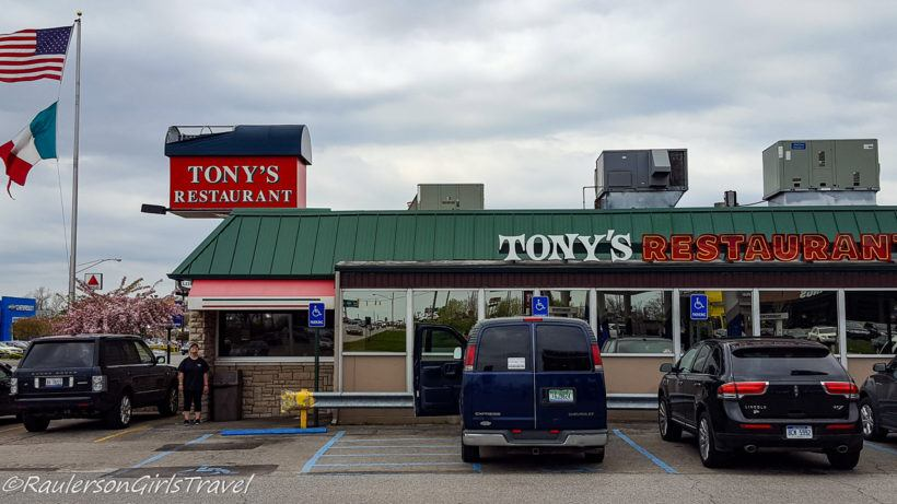 Tonys Restaurant in Birch Run
