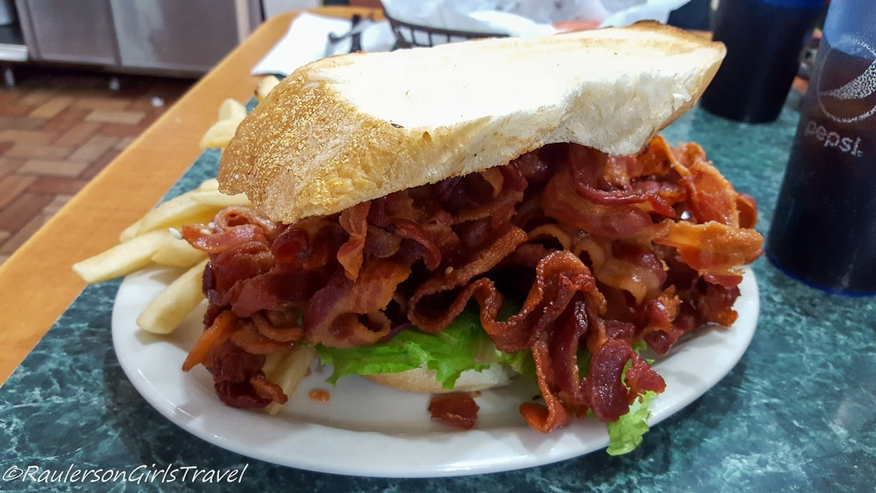 One Pound BLT at Tonys Restaurant